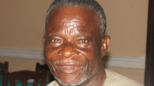 Ogoni elder and plaintiff in the Shell oil spills case, Chief Barizaa