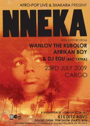Nneka flyer