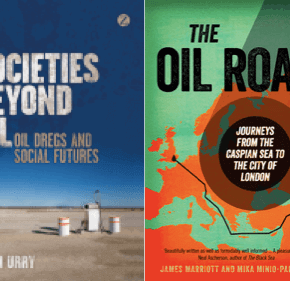 Joint book launch: The Oil Road and Societies Beyond Oil, Firebox Cafe, 31st Jan 2013