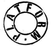 PLATFORM Logo Stamp