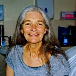 An obituary of performance artist Monica Ross