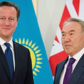 Putting Oil before People - Cameron in Kazakhstan