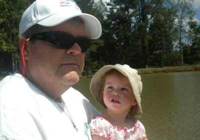 Joey Yerkes and his daughter