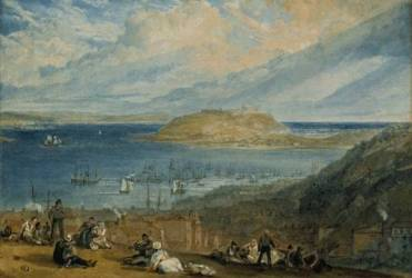 Falmouth Harbour circa 1812-14 JMW Turner (1775-1851)