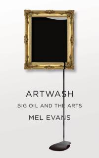 Artwash cover. Mel Evans, Pluto Press 2015.