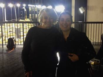 Doreen Massey with Elisa Dassoler at Platform's unauthorised Deadline Festival in Tate Modern.