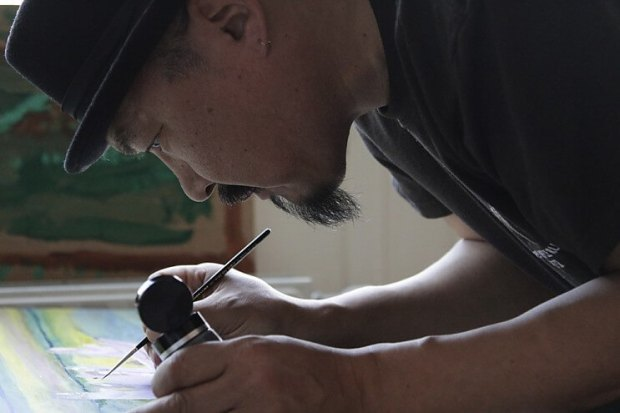 Othneil Art Oomittuk - Inupiaq artist from Point Hope, Alaska
