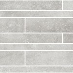 Limestone Grey Brick Wall Mosaic