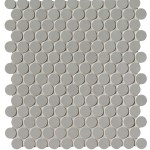 Grigio Round Mosaico Matt