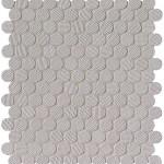 Wall Grigio Round Mosaico
