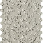 Bloom Grey Print Esagono Mosaico