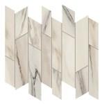 Marvel Bianco Fantastico Mosaico Liberty Lappato