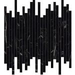 Marvel Black Atlantis 6mm Mosaico Line Lappato 6mm