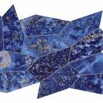 Marvel Ultramarine Mosaico Leaf Lappato A+B