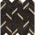 Marvel Absolute Brown Mosaico Twill Lappato