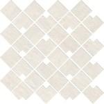 Raw White Mosaico Block WALL