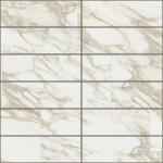 Creme Mosaic Matte & Glossy