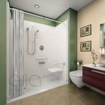 Roll in Shower Stall