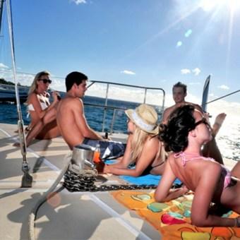 luxury yacht in Malaysia