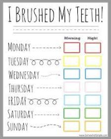 dental-routine-chart