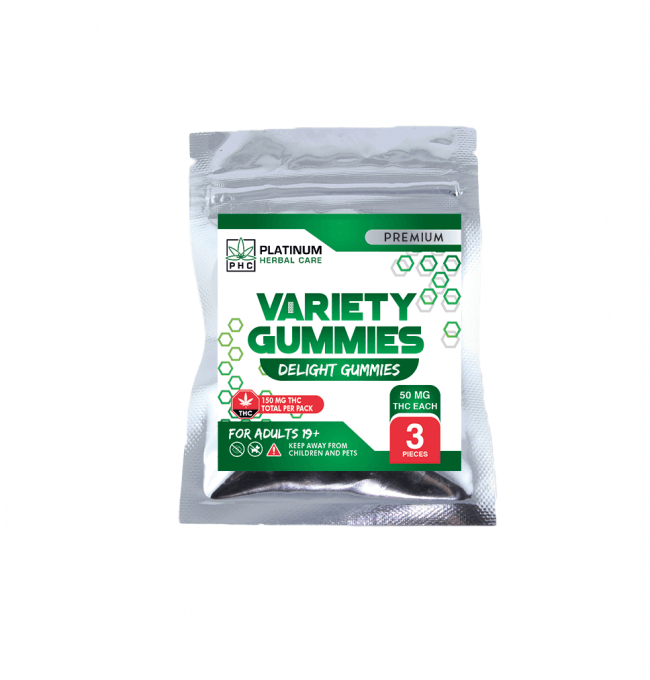CBD Variety Gummies - Triple Strength (160mg) For Sale Online in Canada