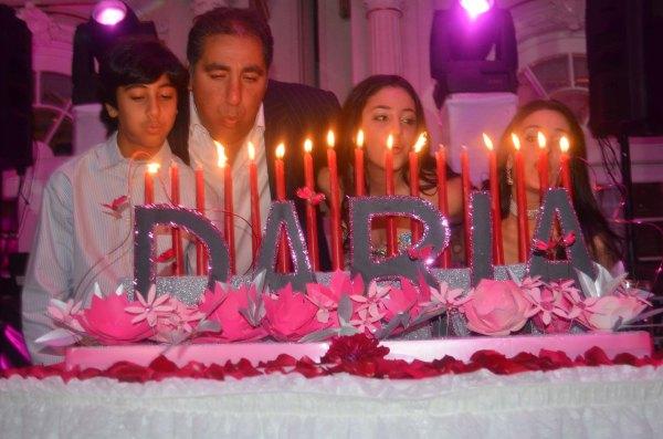 Sweet 16 Candle Lighting