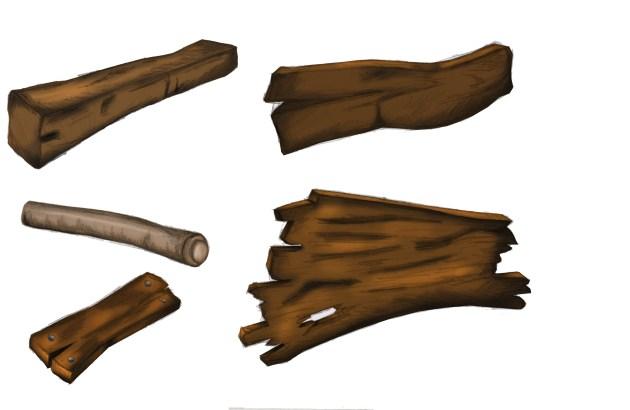 Wood P n J Coloured