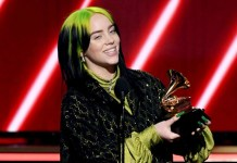 Billie Eilish won five Grammy Awards at the 62nd Grammy Awards. (Grammy)