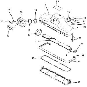 Vacuum Parts: Vacuum Parts Kirby