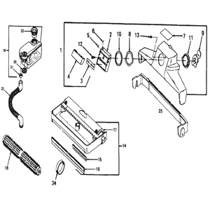 Kirby Sentria Vacuum Cleaner Parts and Accessories