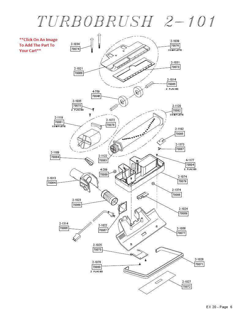 Vacuum Parts: Tristar Vacuum Parts