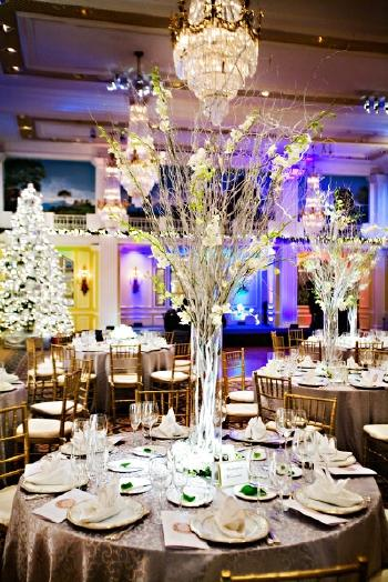 purple chair sashes for weddings blue velvet tufted eduarda's blog: wedding crystal trees sum up a 39fairytale 39 one very suitable piece