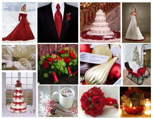 2012 Wedding Colors ~~ Winter Weddings 101