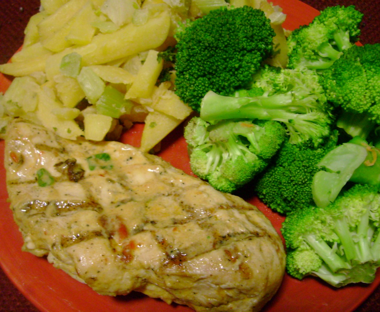 Chipotle Lime Chicken, Herbed Turnips, Broccoli