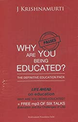 Book: Why are you being Educated by J. Krishnamurthy