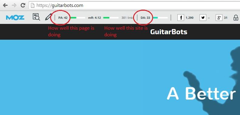 GuitarBots Screen