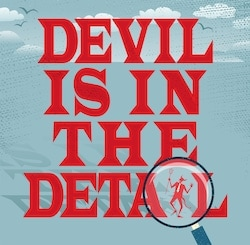 Devil is in the detail