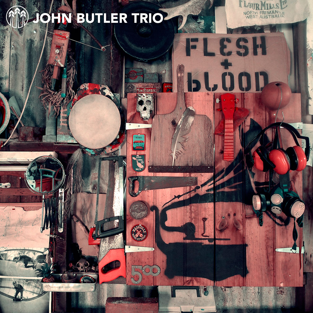John Butler Trio - Flesh and Blood.