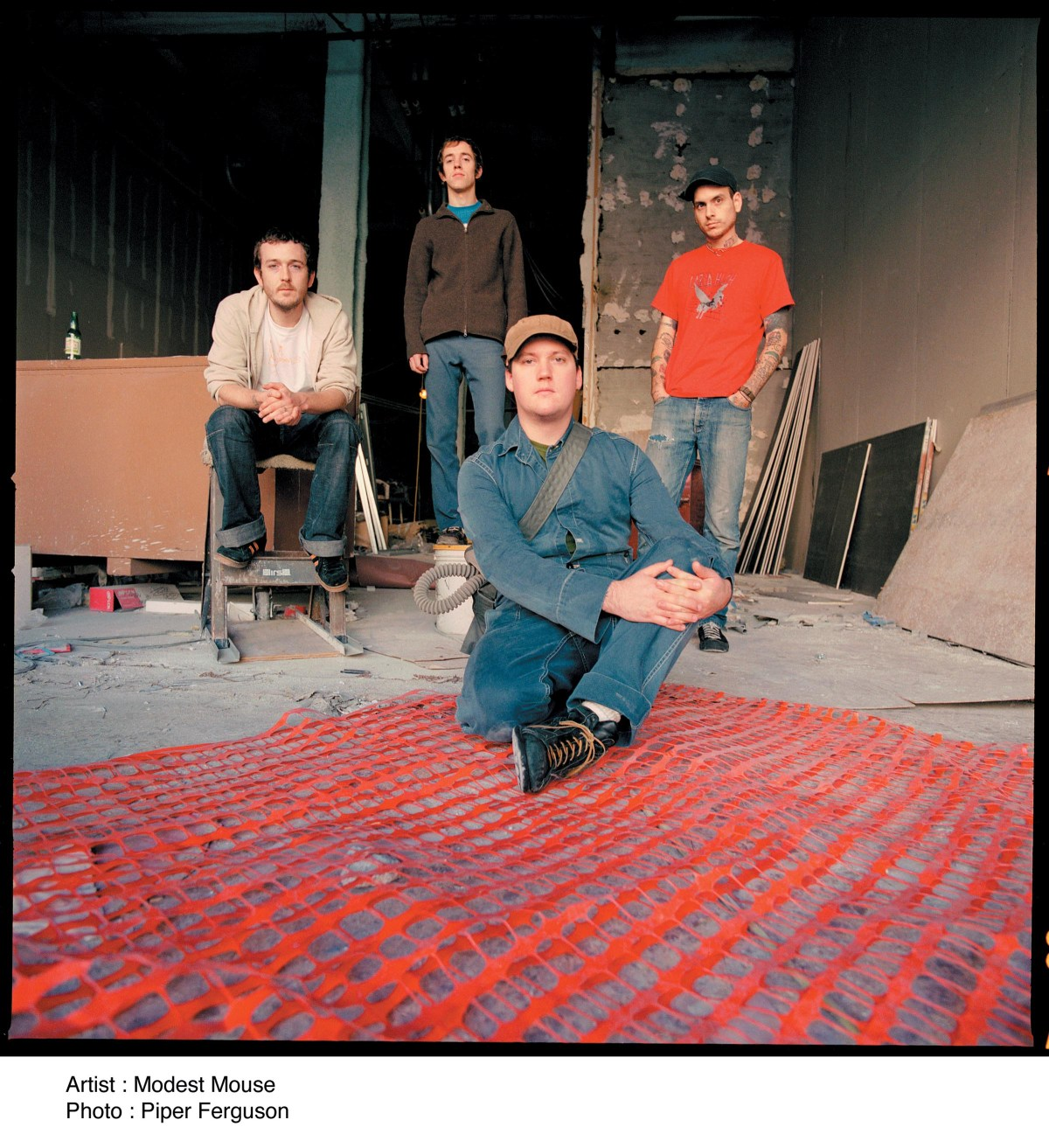 Modest Mouse Band Foto
