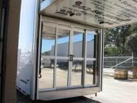 Sliding Rear Doors for Stacker Trailer  Plattinum Products