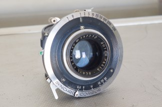 BOYER PARIS BERYL 180mm F:6.8 4x5 LENS SYNCHRO COMPUR