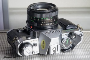CANON AE-1 PROGRAM + 50mm F:1.8