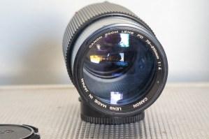 CANON FD 70-210mm F:4