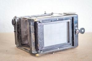 GAUMONT BLOCK NOTES MP 4x6,5 E.KRAUSS 72mm F:4.5 TESSAR + DEPOLI + CHASSIS