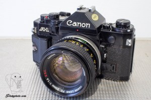 CANON A1 + 50mm F:1.4