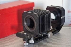 Leitz UXOOR Bellows Soufflet + dispositif copie négatifs