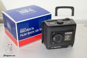BRONICA GS-1 DOS 120 6x7 NEUF EN BOITE