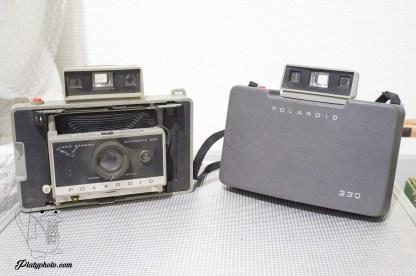 Lot 2 polaroids 225/330