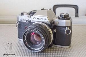 Olympus OM10 + 50mm F:1.8