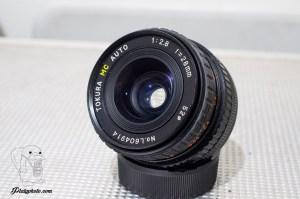 TOKURA 28mm F:2.8 Canon FD